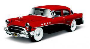 Maisto  1:24 Kit  Design  - Buick Century - model  ke skládání  - červená  barva