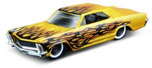 Maisto 1:64 15494 Design - Buick Riviera 1965 -  žlutá barva
