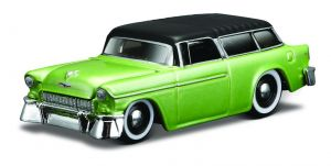Maisto 1:64 15494 Design - Chevrolet  Nomad 1955 - zelená barva