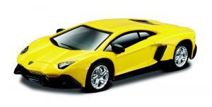 Maisto 1:64 15494 Design - Lamborghini Aventador - žlutá  barva