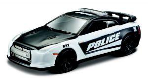 Maisto 1:64 15494 Design - Nissan GT-R (R35) 2009 - Police