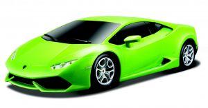 Maisto - RC  Lamborghini Huracán LP610-4    1:24  -  zelené , 27 MHz
