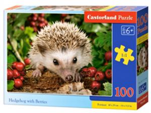 Puzzle Castorland 100 dílků premium  -  Ježek  111145