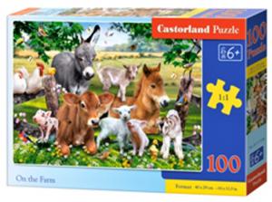 Puzzle Castorland 100 dílků premium  - Na farmě  111138