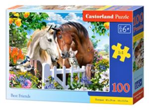 Puzzle Castorland 100 dílků premium  -  Nejlepší přátelé  111121