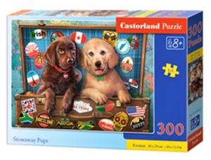 Puzzle Castorland 300 dílků - Štěňátka  030422
