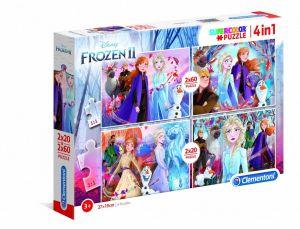 Puzzle Clementoni 2 x 20  a  2 x 60 dílků  Frozen II   21307