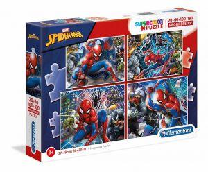 Puzzle Clementoni  - 20, 60, 100 a 180 dílků  - Spiderman  21410