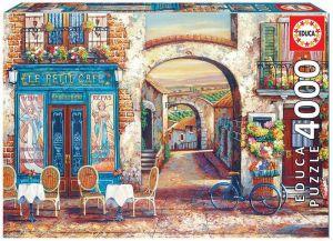 Puzzle EDUCA  4000 dílků - Le Petit Café 18014