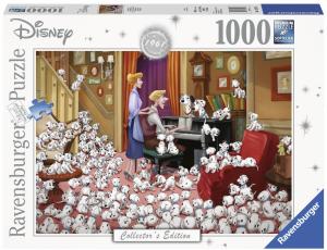 puzzle Ravensburger 1000 dílků - 101 Dalmatínů   139736