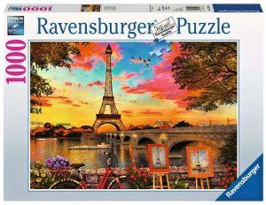 Puzzle Ravensburger 1000 dílků - Nábřeží Seiny 151684