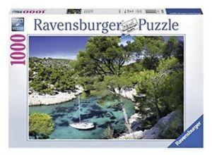 Puzzle Ravensburger 1000 dílků - zátoka Cassis     196326