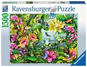 puzzle Ravensburger 1500 dílků  - Najdi žáby  163632