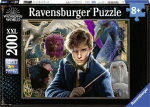 puzzle Ravensburger  200 dílků  XXL - Fantasická zvířata -  126118