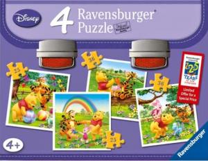 Puzzle Ravensburger  2x25 a 2x36 dílků v  kufříku  Medvídek Pů  073771