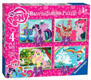 Puzzle Ravensburger  4v1 12, 16, 20 a 24  dílků  My Little Pony 068968