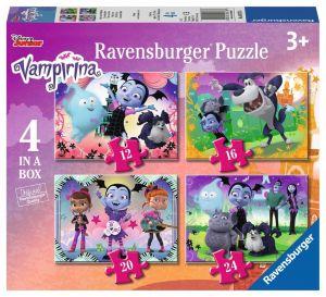 Puzzle Ravensburger  4v1 12, 16, 20 a 24  dílků  Vampirina 069736