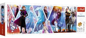 Puzzle TREFL  1000 dílků - panorama - Frozen II  29048