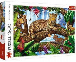 Puzzle Trefl 1500 dílků - Odpočinek na stromě -  26160