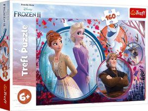 Puzzle Trefl 160 dílků -  Frozen II  - Ledové království  -   Trefl 15374