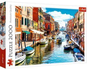 Puzzle Trefl 2000 dílků - Ostrov Murano   27110