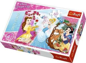 Puzzle  Trefl  60 dílků  - Disney princezny  17315