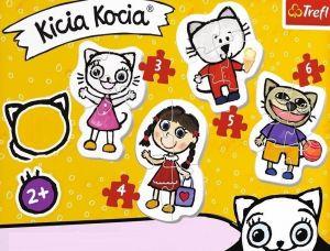 Puzzle Trefl  Baby  3, 4, 5 a 6 dílků  - Kocia Kicia - 36088