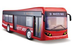 R/C Maisto - městský autobus na dálkové ovládání 33 cm červený
