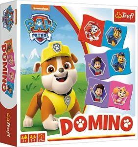 Trefl  - obrázkové domino  - Paw Patrol - tlapková patrola  01895