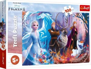 Trefl Puzzle 100 dílků - Frozen II - Ledové království  -  16366