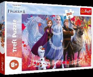 TREFL Puzzle  260 dílků - Frozen II  13250