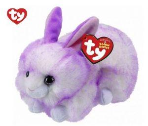 TY Beanie Boos - Ryley - fialový králíček 42116  -  15 cm plyšák