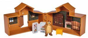 Simba - Máša a medvěd - mini domeček s figurkou medvěda