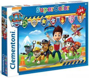 Clementoni Dětské puzzle 104 dílků  Paw Patrol  27945
