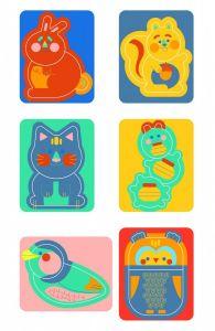 Clementoni puzzle 6 x 2-3 dílky Zvířátka  50168