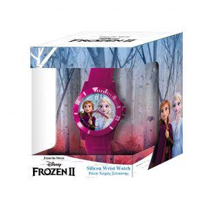 Dětské hodinky - analogové v dárkové krabičce  - Frozen II