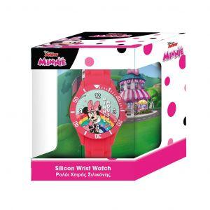 Dětské hodinky - analogové v dárkové krabičce  - Minnie Mouse B