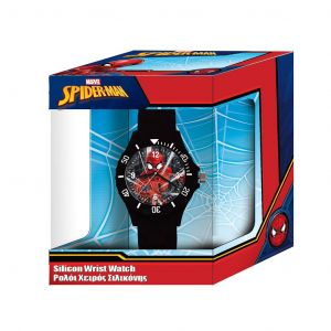 Dětské hodinky - analogové v dárkové krabičce  - Spiderman  B