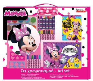 Diakakis - Art set v kufříku - Minnie Mouse