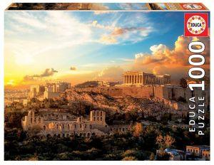 EDUCA Puzzle 1000 dílků -  Akropole Atény  18489