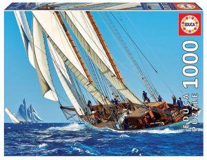 EDUCA Puzzle 1000 dílků -  Plachetnice  18490