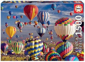 EDUCA Puzzle 1500 dílků  Balóny 17977