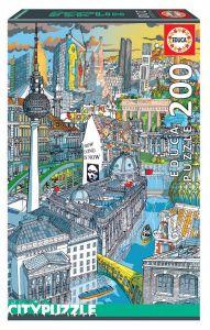 EDUCA puzzle 200 dílků - Berlín   18469