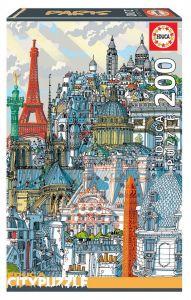 EDUCA puzzle 200 dílků - Paříž 18471