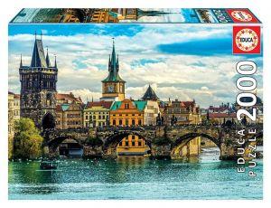 EDUCA Puzzle 2000 dílků   Praha 18504