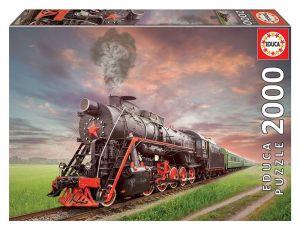 EDUCA Puzzle 2000 dílků  Ruský vlak   18503