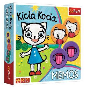 Hra Trefl  -  Memos - Pexeso - Kicia Kocia   01894
