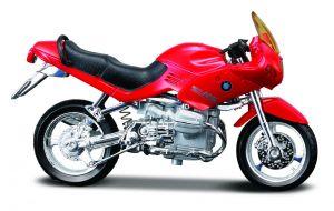 Maisto  motorka na stojánku - BMW R 1100 RS  1:18  červená