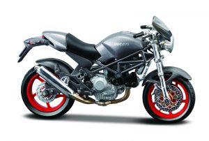 Maisto  motorka na stojánku - DUCATI Diavel Carbon  1:18  šedá