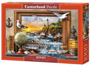 Puzzle Castorland  1000 dílků - Marine to Life   104581